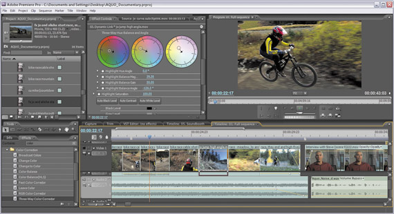 What is industry standard video editing software