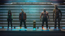 The top five feature films of 2014 Guardians of the Galaxy