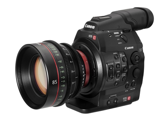The Canon C300 vs. Sony Fs7 camera package